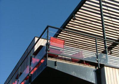 Cables architecture terrasse restaurant